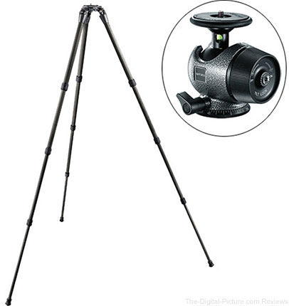 Gitzo GT2542LS Systematic Series 2 Carbon Fiber Tripod (Long) with GH2780 Center Ball Head - $888.88 Shipped (Reg. $1,188.88)