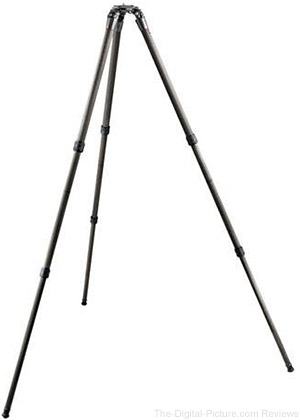 Gitzo GT3532LSV Series 3 6x Systematic Video Carbon Fiber Tripod - $449.88 Shipped (Reg. $949.88)