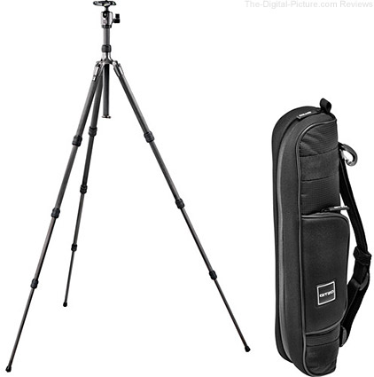 Gitzo Series 1 Traveler Carbon Fiber Tripod Ballhead Kit with GC1202T Carrying Case
