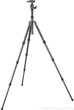 Gitzo Series 2 GK2580TQD Traveler Carbon Fiber Tripod with Center Ball Head - $699.88 Shipped (Reg. $1,099.88)