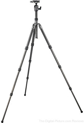 Gitzo Series 2 GK2580TQD Traveler Carbon Fiber Tripod with Center Ball Head