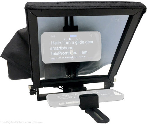 Glide Gear TMP 50 Adjustable Smartphone Mini Teleprompter - $59.95 Shipped (Reg. $139.95)