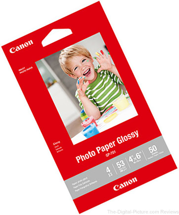"Canon 4x6"" Glossy Photo Paper – Buy 1, Get 9 Free"