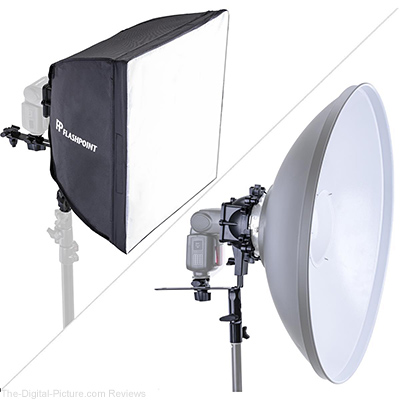 "Glow SpeedLight Bracket for Beauty Dish and 16X16"" Softbox - $19.95 (Reg. $50.00)"