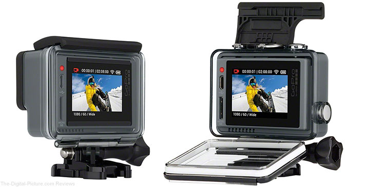 GoPro HERO+ LCD Action Cam (Economy Box) - $149.99 (Reg. $299.99)