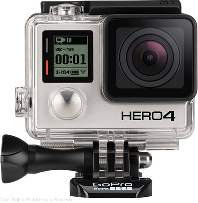 GoPro HERO4 Black - $299.00 Shipped (Reg. $449.00)