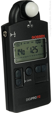Gossen DigiPro F2 Flash and Ambient Light Meter - $249.88 Shipped (Reg. $324.88)