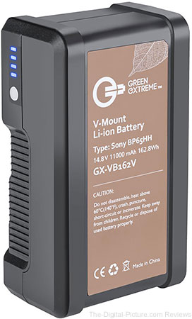 Green Extreme 162WH Lithium-ion V Mount Battery - $149.95 Shipped (Reg. $199.95)
