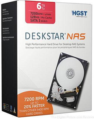 HGST 6TB Deskstar 3.5