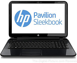 "HP Pavilion Sleekbook 15.6"" Notebook PC - $379.00 AR (Reg. $529.00)"