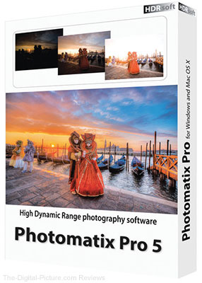 Hdrsoft Photomatix Pro 5.0 (Download) - $49.00 (Reg. $99.00)