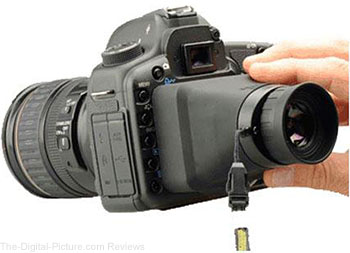 "Compact HoodLoupe Optical Viewfinder for 3.2"" Displays - $79.00 Shipped (Reg. $99.00)"