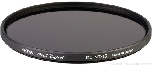 Expired: Hoya 77mm Pro 1D 16x (4-stop) ND Filter - $44.95 Shipped (Reg. $119.95)