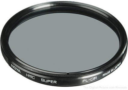 Hoya 82mm Circular Polarizer Super-HMC Thin Filter - $59.95 Shipped (Reg. $189.95)