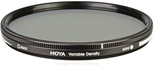 Hoya 82mm Variable Density Filter