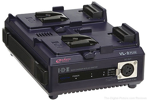 IDX System Technology VL-2 Endura-type Lithium-Ion Battery Charger - $299.00 Shipped (Reg. $441.00)