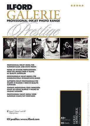 """Ilford GALERIE Prestige Gold Mono Silk Paper (13 x 19"""", 25 Sheets) - $29.95 Shipped (Reg. $69.95)"""