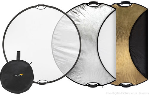"Impact 5-in-1 Collapsible Circular Reflector (42"") - $27.95 Shipped (Reg. $49.95)"