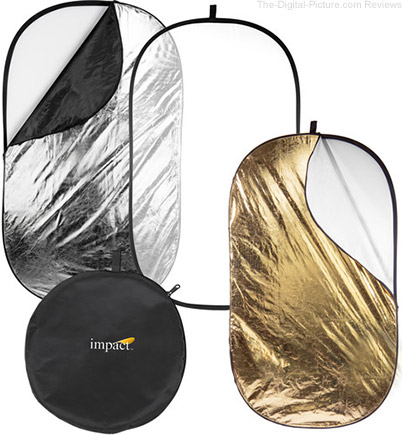 "Impact 5-in-1 Collapsible Oval Reflector (42 x 72"") - $49.95 Shipped (Reg. $94.95)"