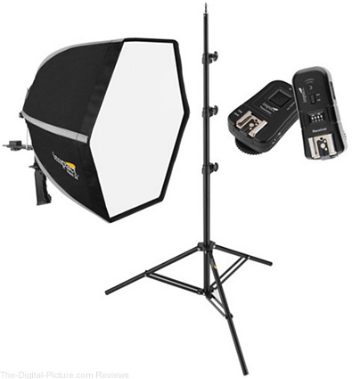 Impact Hexi 24 Softbox Speedlight Solution Kit - $152.85 Shipped (Reg. $257.85)
