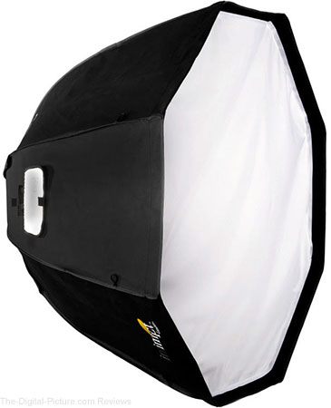 "Impact Luxbanx Duo Deep Small Octagonal Softbox (39"") - $129.95 Shipped (Reg. $309.95)"