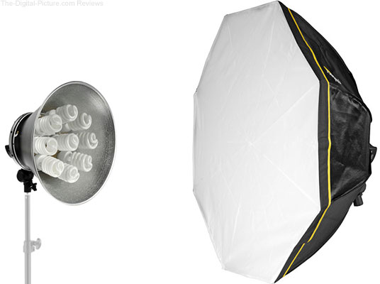 Impact Octacool-9 Fluorescent Light with Octabox - $174.00 with Free Shipping (Reg. $259.00)