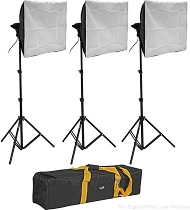 Impact 4 Socket 3 Light Kit - $199.90 Shipped (Reg. $604.90)
