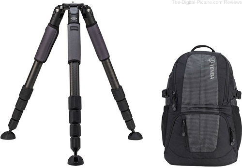 Induro GIT505XXL Grand Series 5 Stealth Carbon Fiber Tripod with Tenba Daypack Kit - $539.95 Shipped AR (Reg. $938.95)