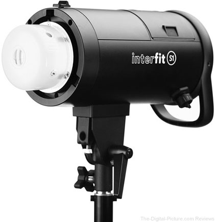 Interfit S1 500Ws HSS TTL Battery-Powered Monolight - $549.99 Shipped (Reg. $999.99)
