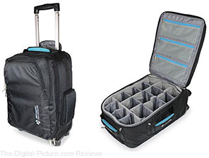 JLab Pro Roller Camera Spinner Bag