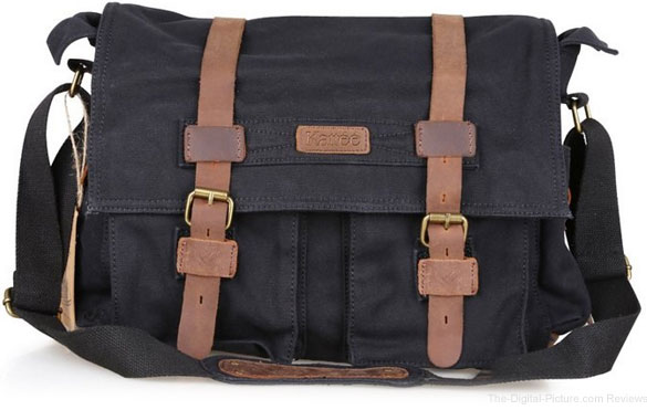 Lightning Deal: Kattee Canvas DSLR Shoulder Messenger Bag - $45.59 (Reg. $56.99)