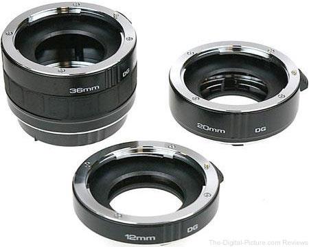 Kenko DG Auto Extension Tube Set for the Canon - $79.99 Shipped (Reg. $109.99)