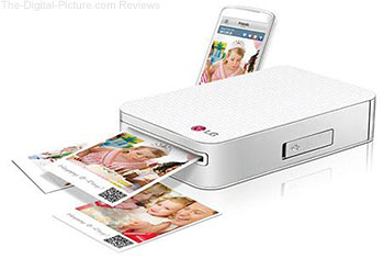 LG PD233 Pocket Photo Printer for Smartphones