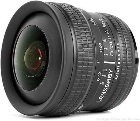Lensbaby 5.8mm f/3.5 Circular Fisheye Lens - $249.95 with Free Shipping (Reg. $299.95)