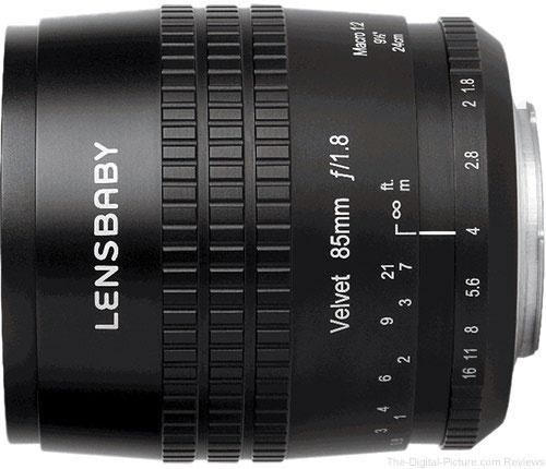 Lensbaby Introduces Velvet 85mm f/1.8