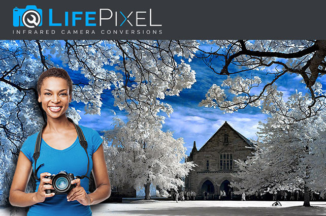 Save $50.00 and Receive Priority Processing on IR Conversions at LifePixel