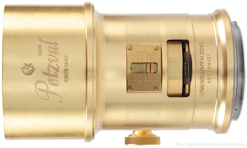 Lomography Petzval 85mm f/2.2 Lens In Stock