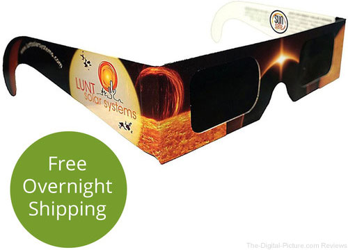 OOS: Lunt Solar Systems Solar / Solar Eclipse Viewing Glasses (10-Pack) In Stock at B&H