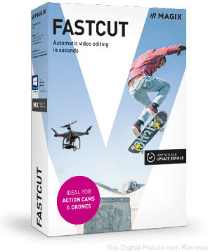 MAGIX Entertainment Fastcut (Download) - $35.00 (Reg. $70.00)