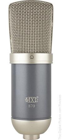 MXL 870 Studio Condenser Microphone - $59.95 Shipped (Reg. $199.95)