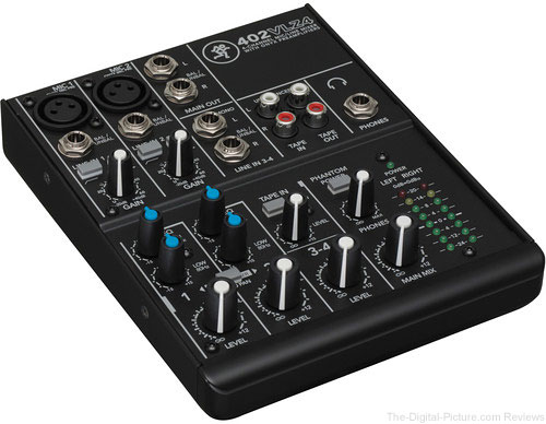 Mackie 402VLZ4 4-Channel Ultra-Compact Mixer - $69.99 Shipped (Reg. $99.99)