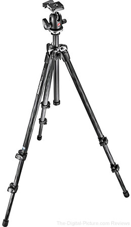 Manfrotto 294 Carbon Fiber Tripod with 496RC2 Ball Head - $189.88 Shipped (Reg.  $319.88)