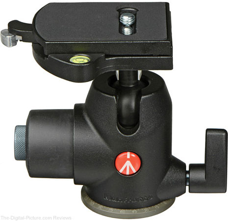Manfrotto 468MGRC4 Hydrostatic Ball Head with RC4 Quick Release - $249.00 Shipped (Reg. $349.88)