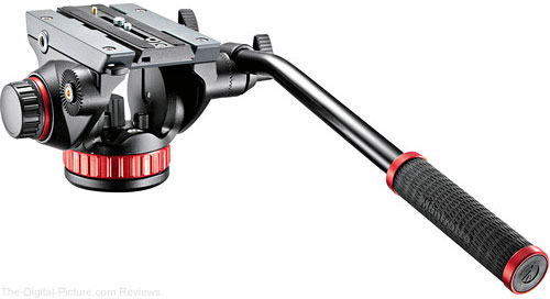 Manfrotto 502HD Pro Video Head with Flat Base - $124.99 Shipped AR (Reg. $199.99)