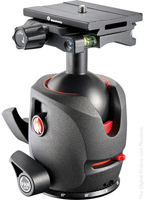Manfrotto MH055M0-Q6 Magnesium Ball Head with Q6 Top Lock QR - $129.88 Shipped (Reg. $274.88)