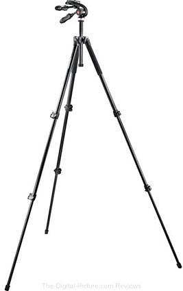 Manfrotto MK293A3-D3Q2 Aluminum Tripod with 3-Way Pan/Tilt Head - $109.88 Shipped (Reg. $179.88)