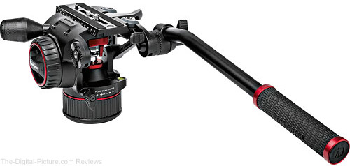 Manfrotto Launches New Video Head Series with Nitrotech N8