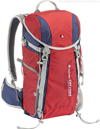 Manfrotto Introduces Off Road Hiker 20L Backpack (Red)