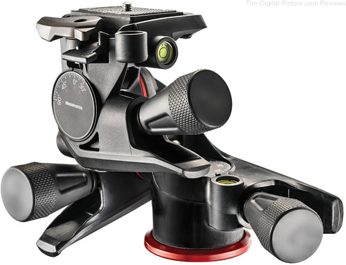 Manfrotto Introduces XPRO Geared Head