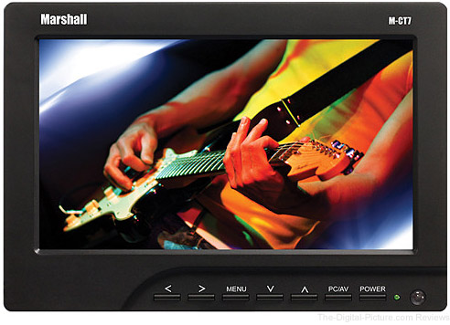 """Marshall Electronics 7"""" LCD Monitor with Canon LP-E6 Plate/Battery/Charger - $159.95 Shipped (Reg. $259.95)"""